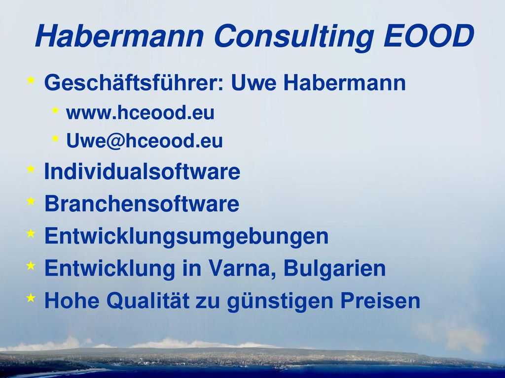 Habermann Consulting EOOD