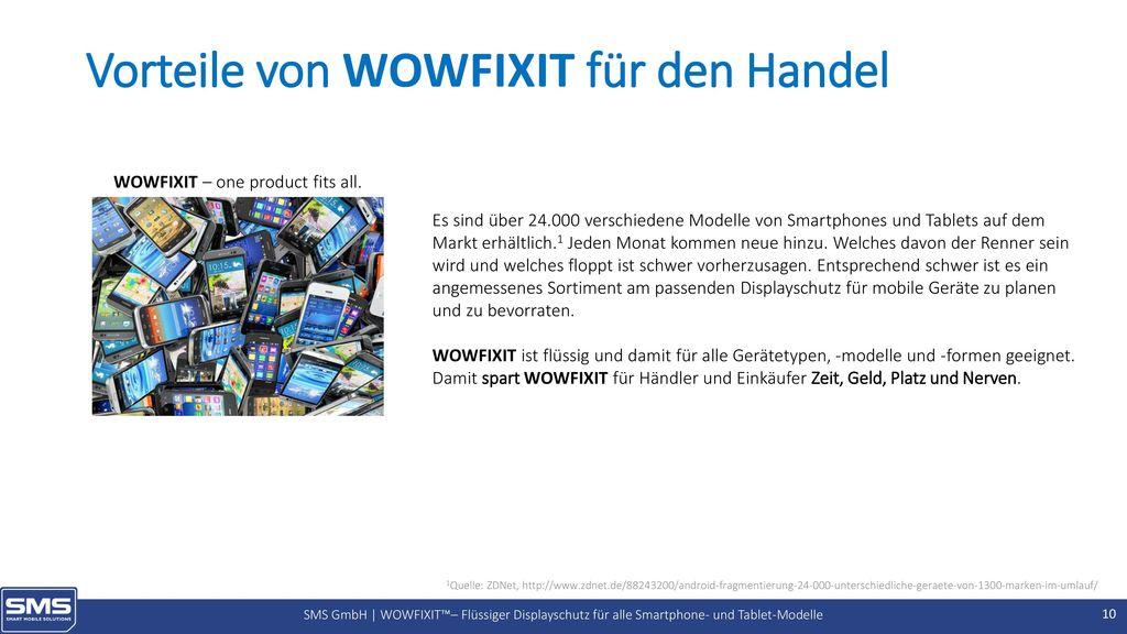 Vorteile von WOWFIXIT für den Handel
