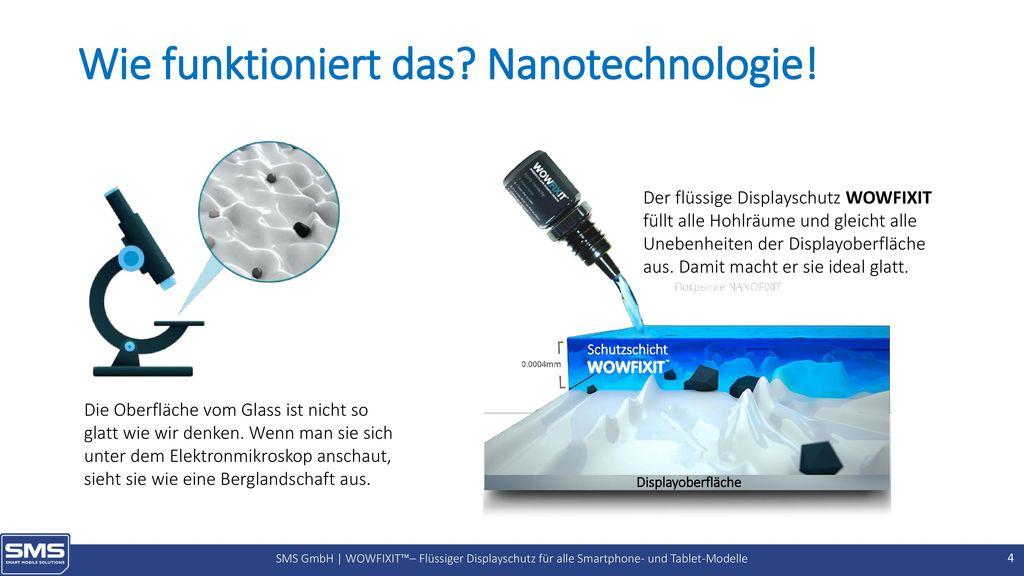 Wie funktioniert das Nanotechnologie!