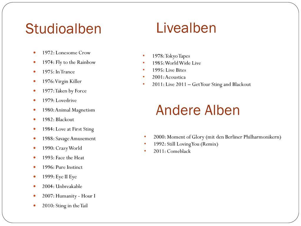 Studioalben Livealben Andere Alben 1972: Lonesome Crow