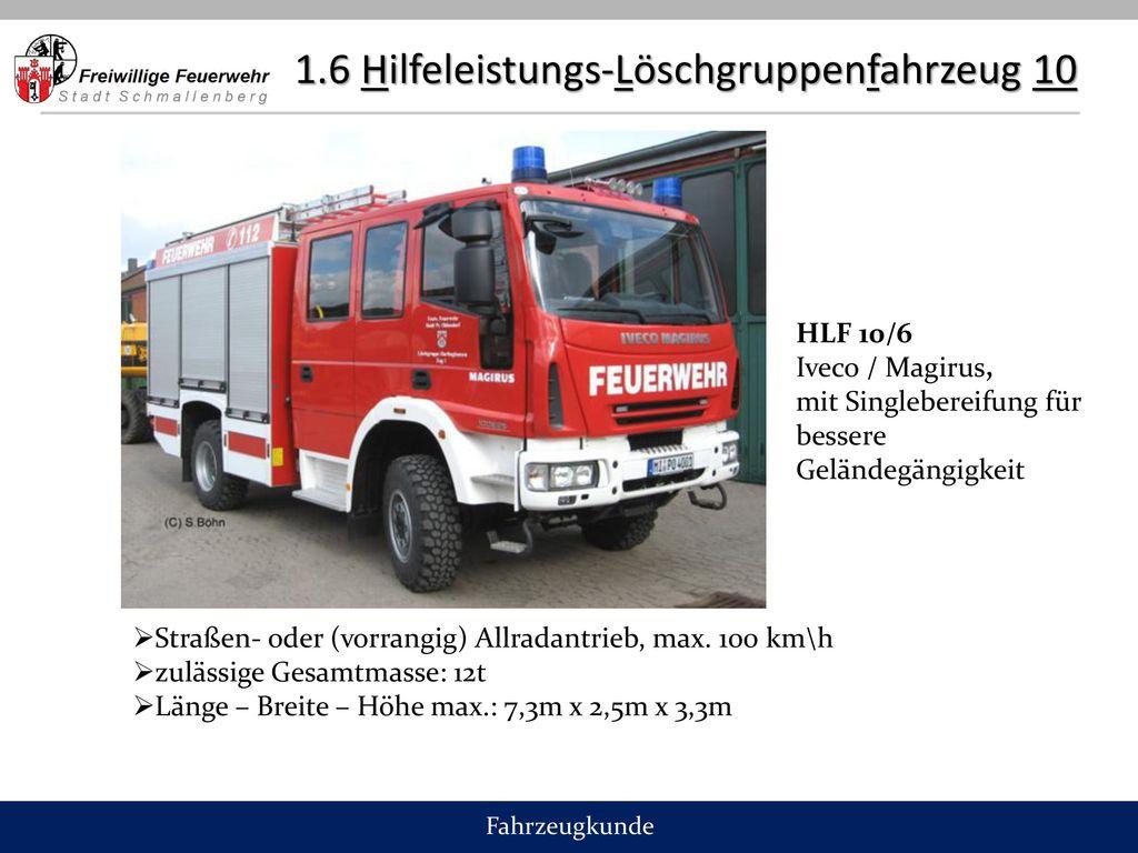1.6 Hilfeleistungs-Löschgruppenfahrzeug 10