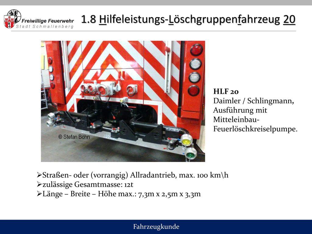 1.8 Hilfeleistungs-Löschgruppenfahrzeug 20