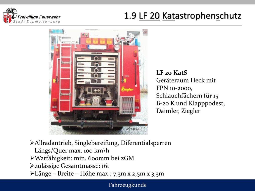 1.9 LF 20 Katastrophenschutz