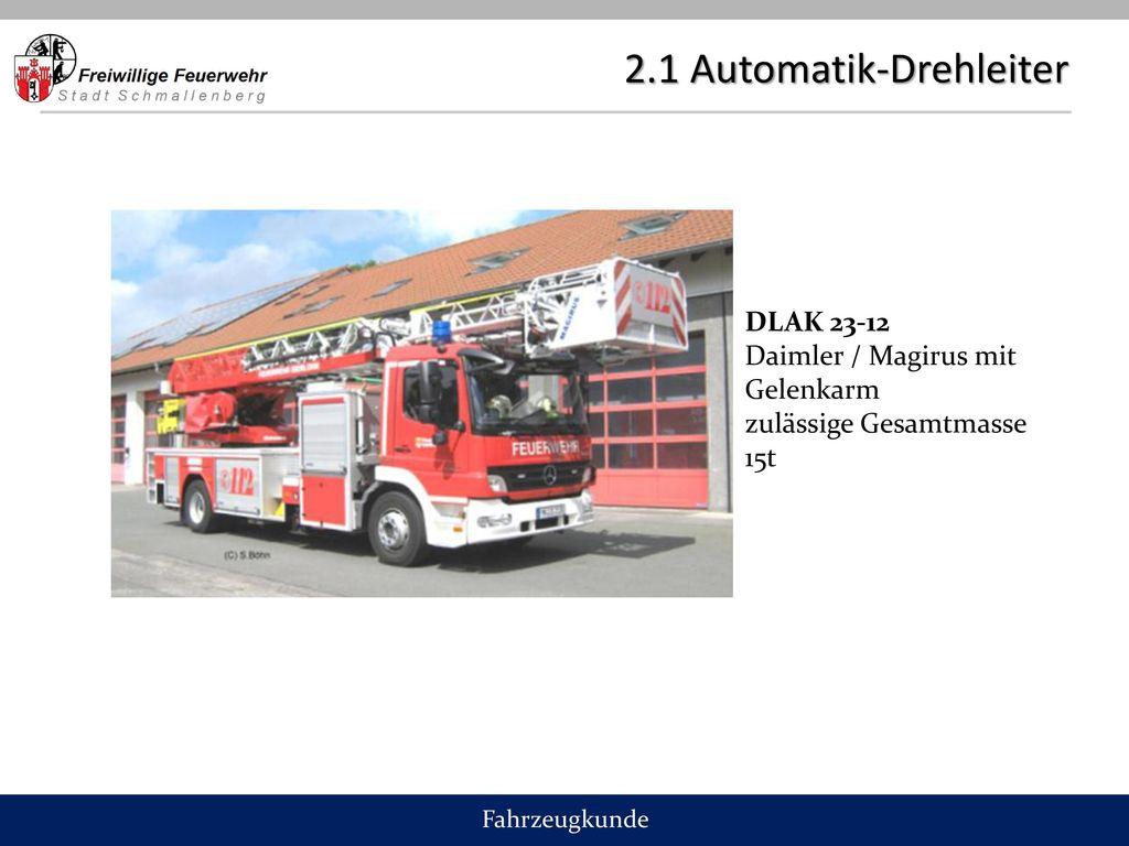 2.1 Automatik-Drehleiter