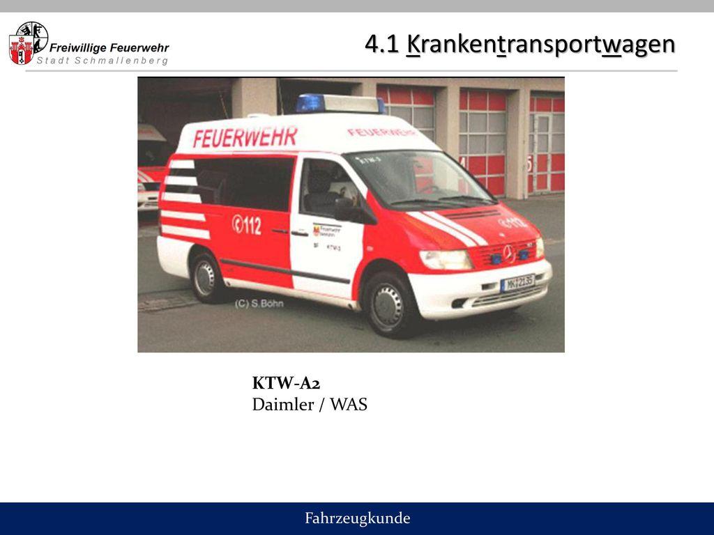 4.1 Krankentransportwagen