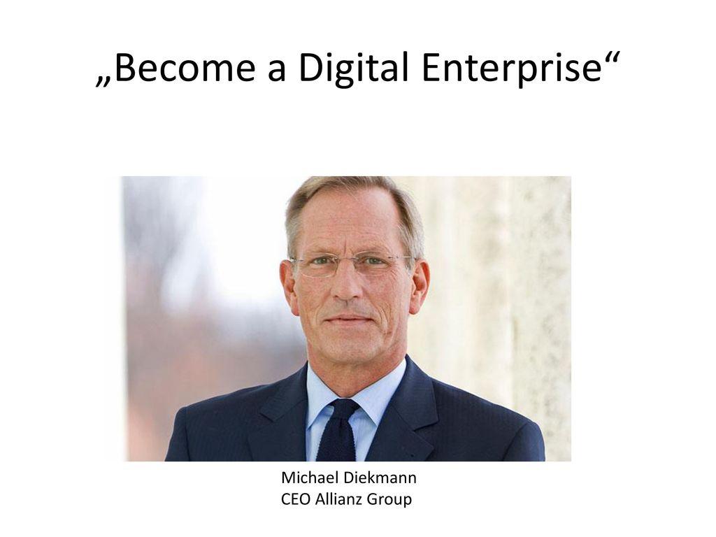 """Become a Digital Enterprise"