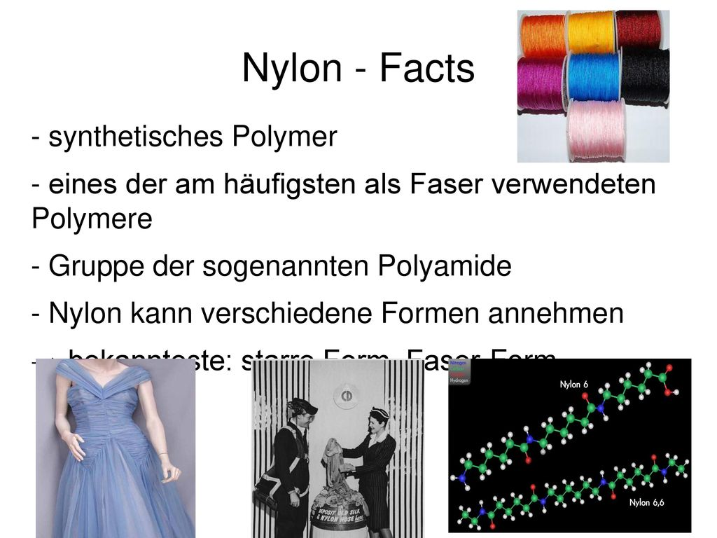 Nylon - Facts - synthetisches Polymer