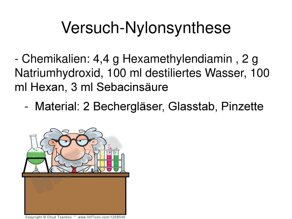 Versuch-Nylonsynthese
