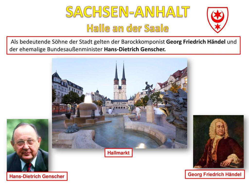 SACHSEN-ANHALT Halle an der Saale