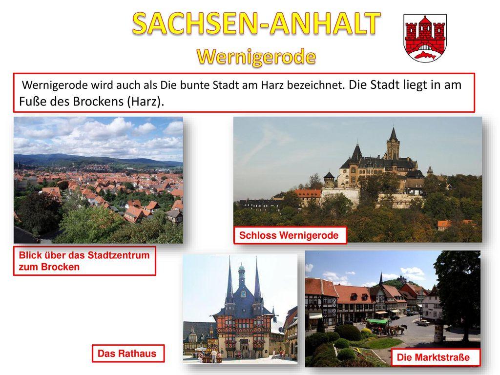 SACHSEN-ANHALT Wernigerode