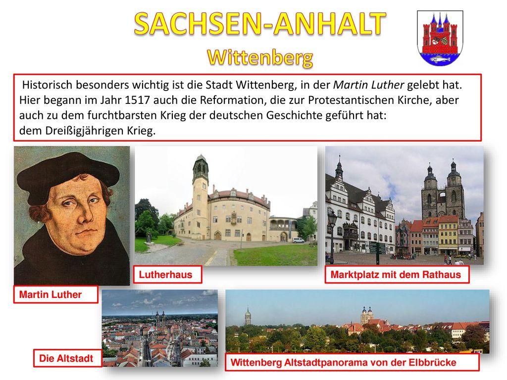 SACHSEN-ANHALT Wittenberg