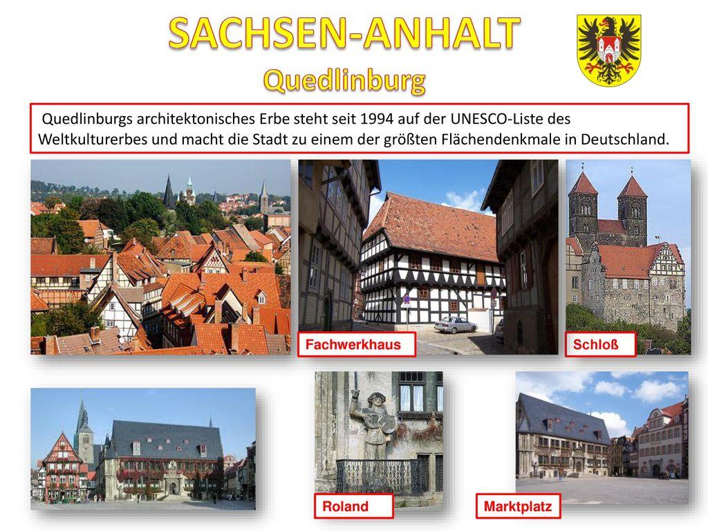 SACHSEN-ANHALT Quedlinburg