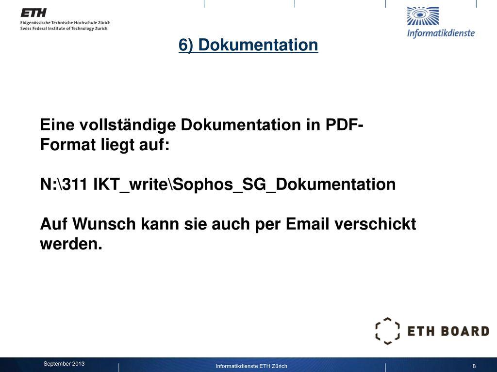 Informatikdienste ETH Zürich
