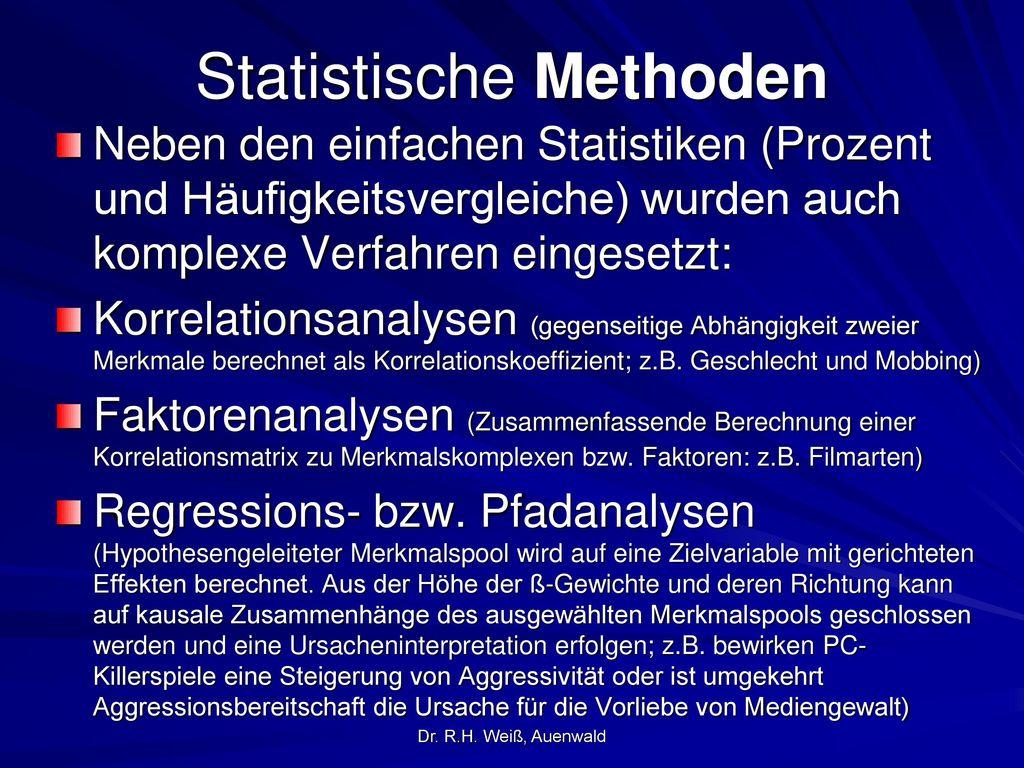 Statistische Methoden