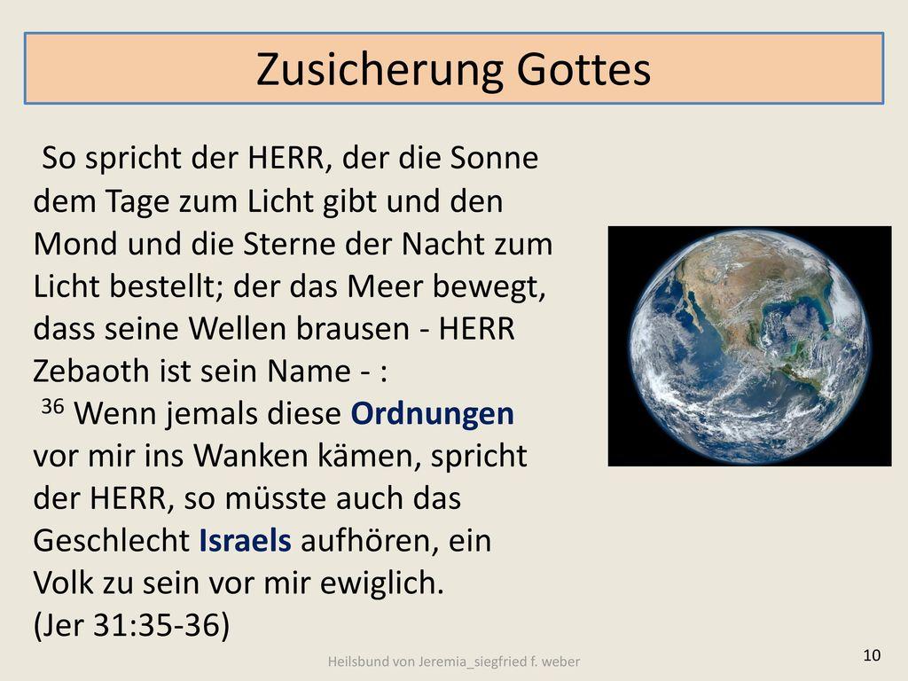 Heilsbund von Jeremia_siegfried f. weber