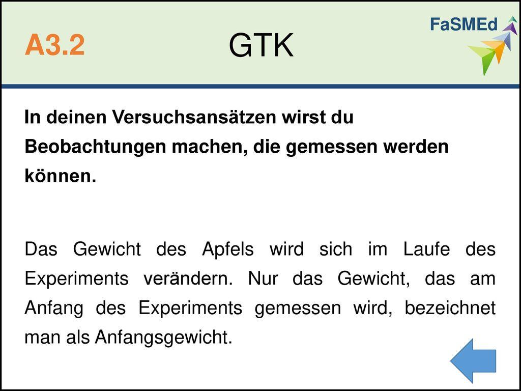 FaSMEd GTK. A3.2.