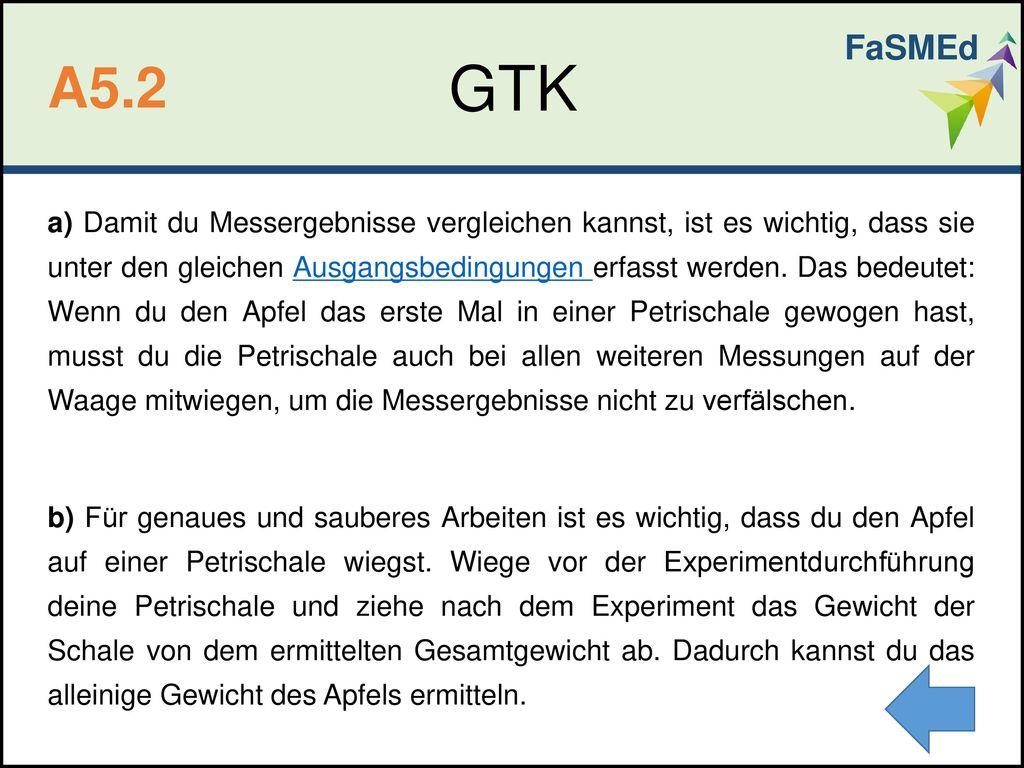 FaSMEd GTK. A5.2.