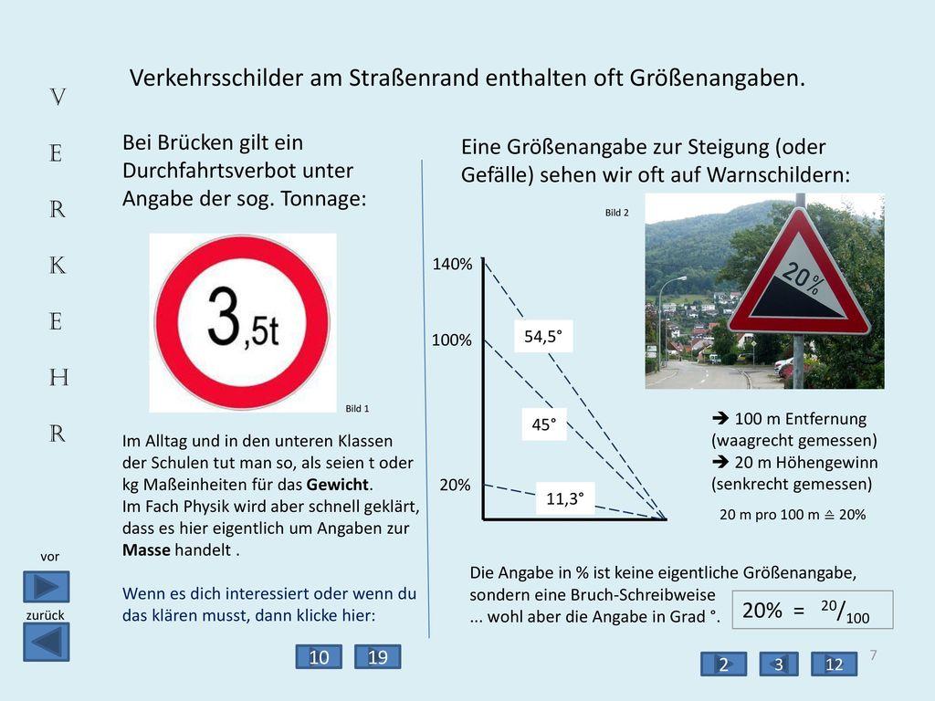 Brückendurchfahrt Temperatur Höhenangabe