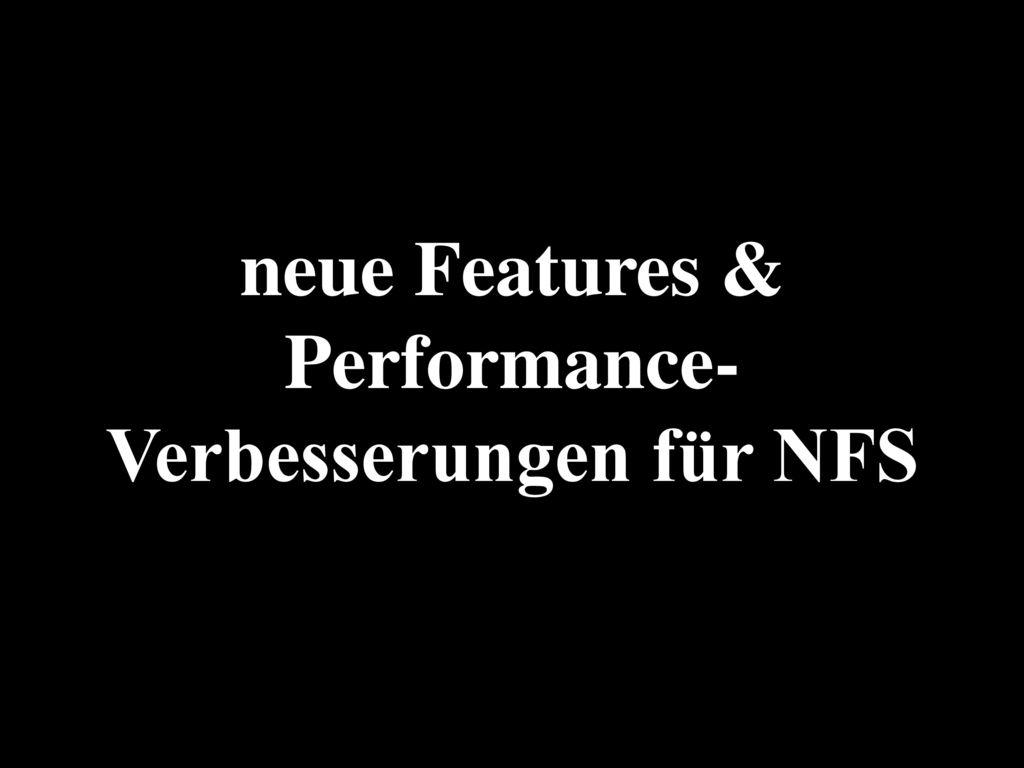 Ext4 & XFS für manche Einsatz-Zwecke einfach besser als Btrfs