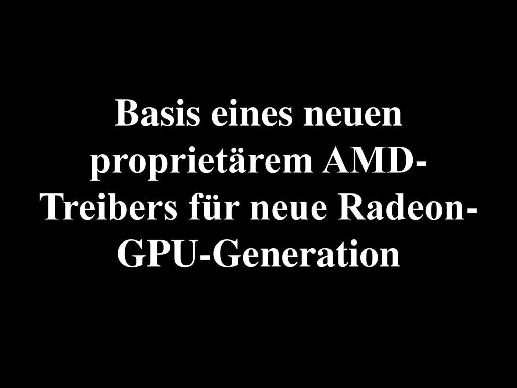 Intel: Treiber nicht perfekt, aber ziemlich gut