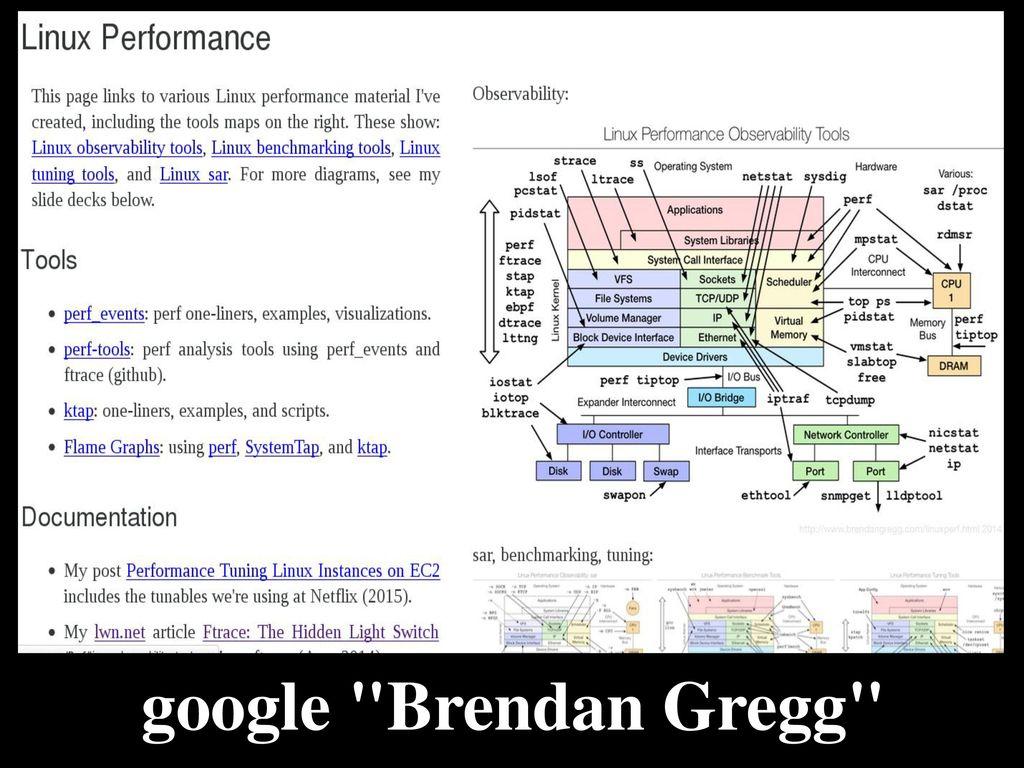 - tracing & performance monitoring -