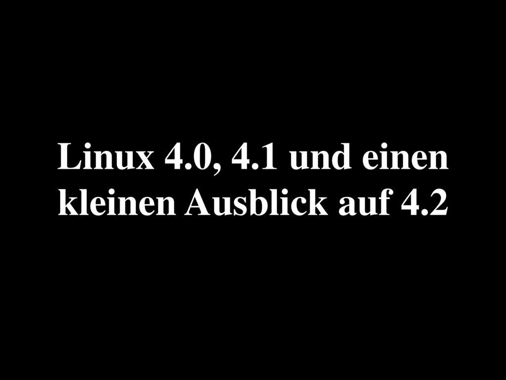 Linux-Anwender