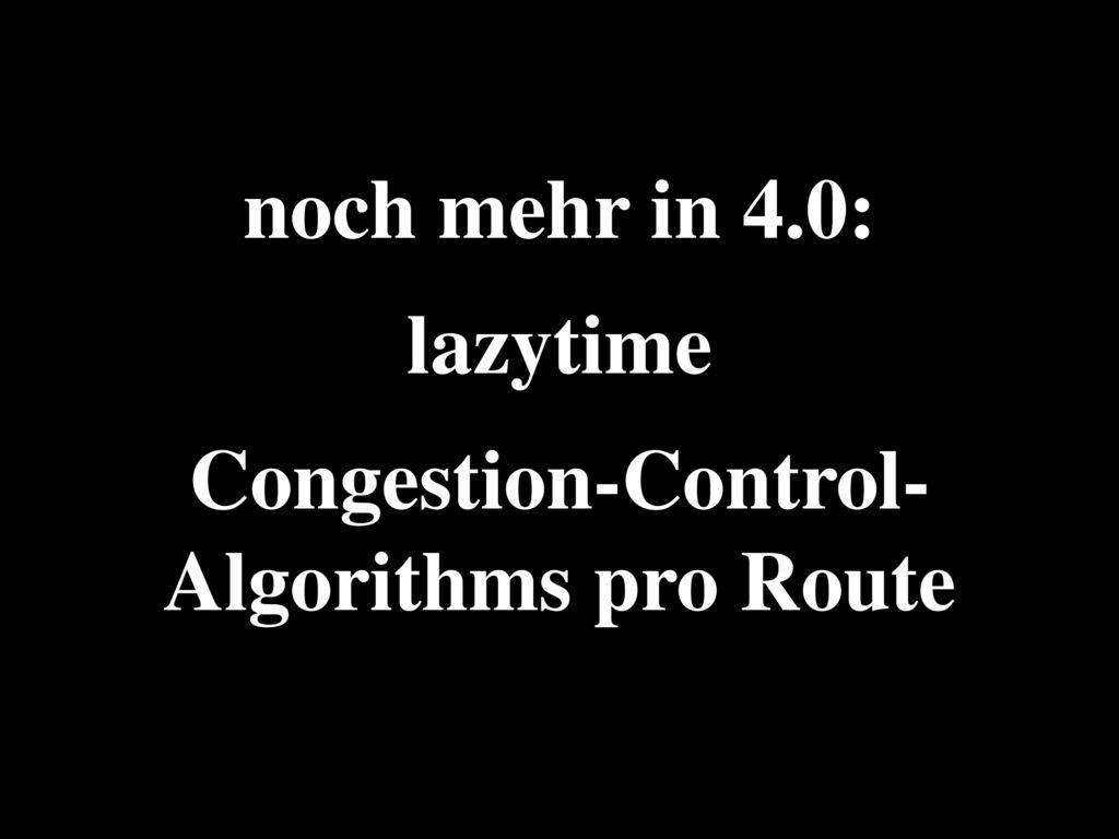 - 4.0- nfsd beherrscht Parallel NFS (pNFS)