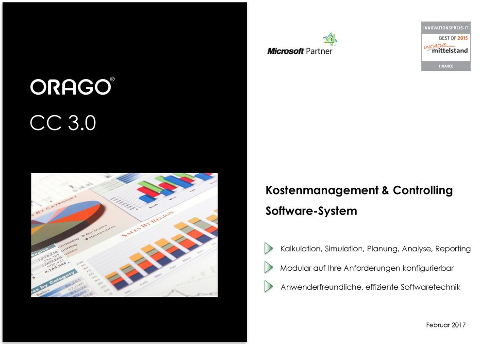 CC 3.0 Kostenmanagement & Controlling Software-System