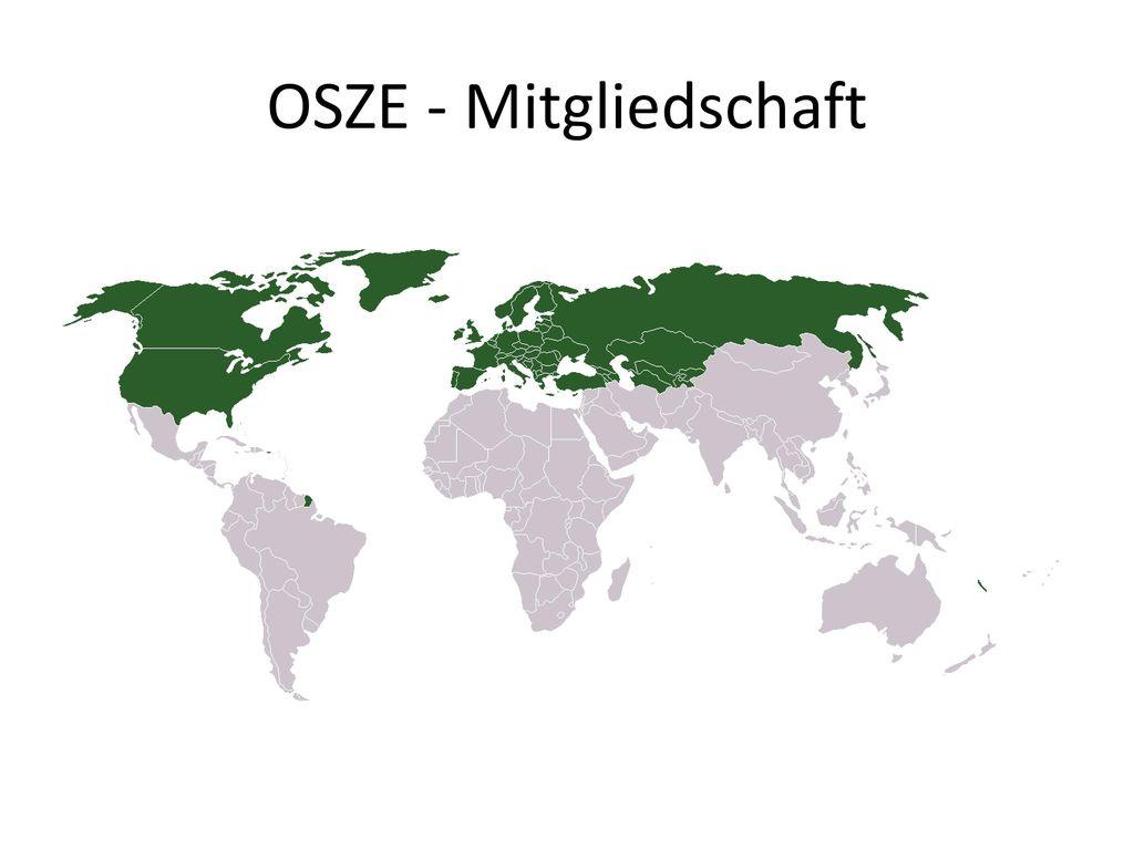 OSZE - Mitgliedschaft