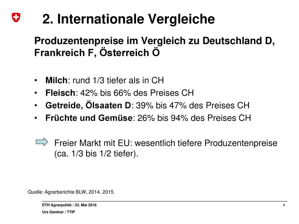2. Internationale Vergleiche