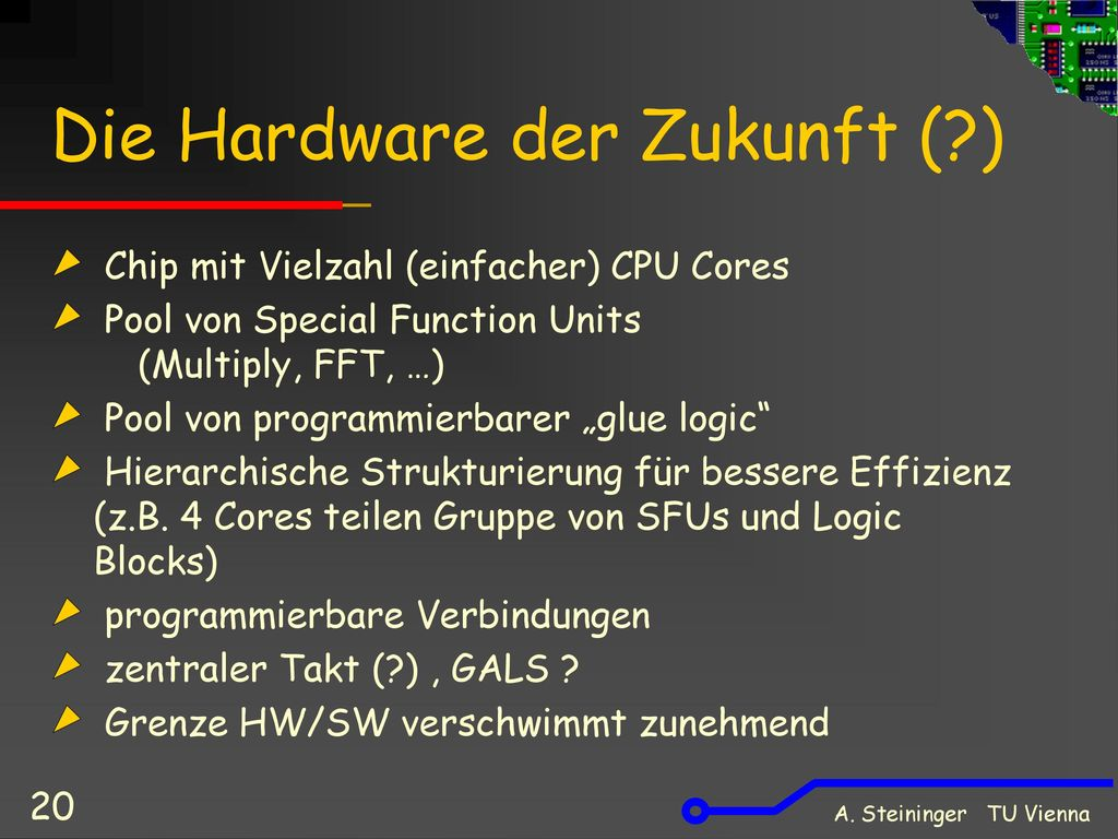 Die Hardware der Zukunft ( )