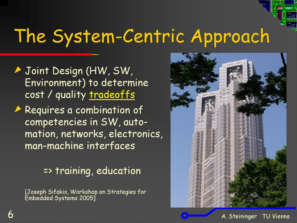 The System-Centric Approach