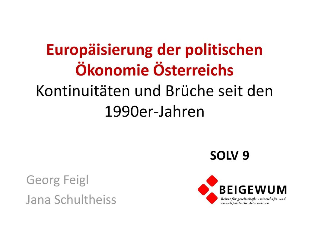 Georg Feigl Jana Schultheiss