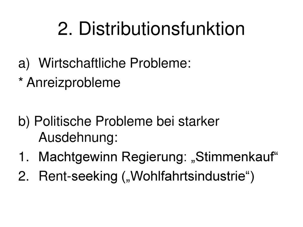 2. Distributionsfunktion