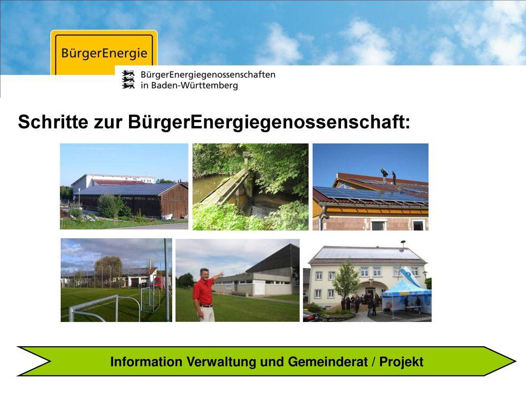 Information Verwaltung und Gemeinderat / Projekt