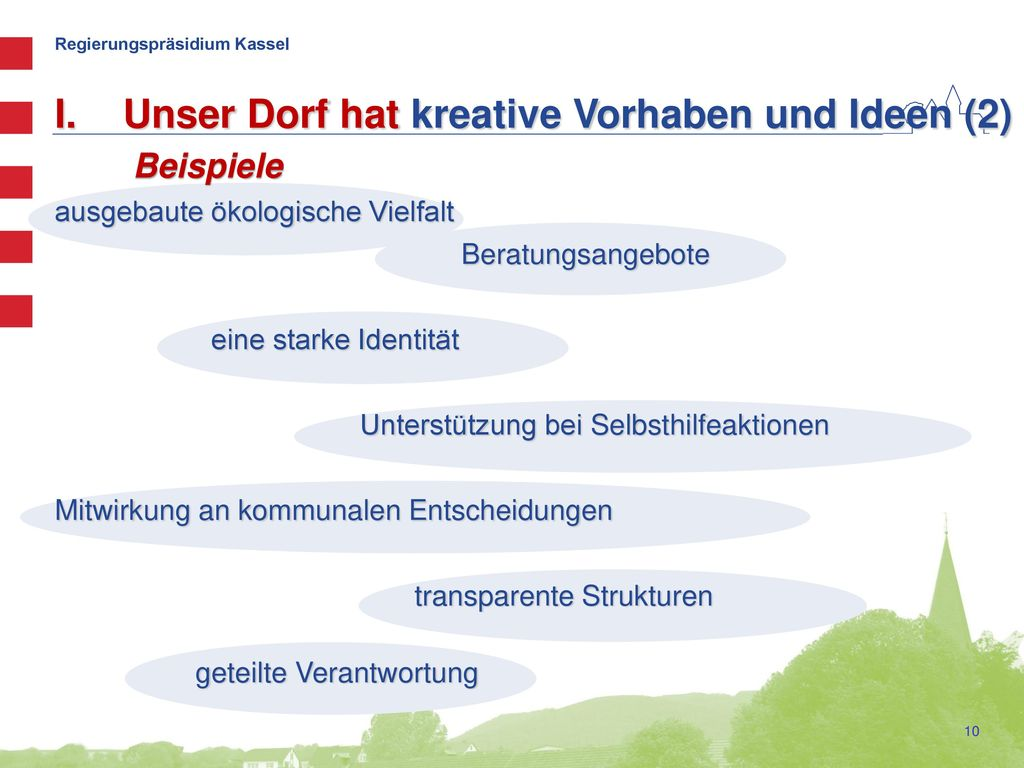 Unser Dorf hat kreative Vorhaben und Ideen (2)