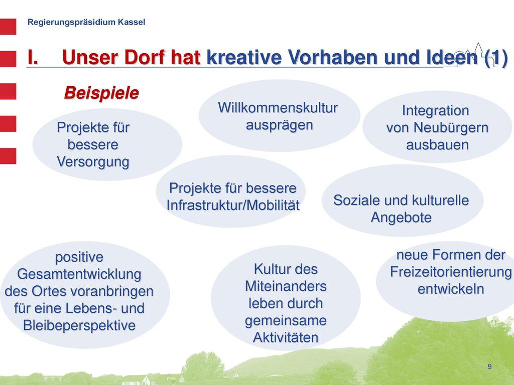 Unser Dorf hat kreative Vorhaben und Ideen (1)