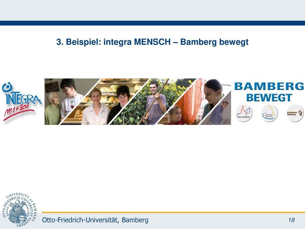 3. Beispiel: integra MENSCH – Bamberg bewegt