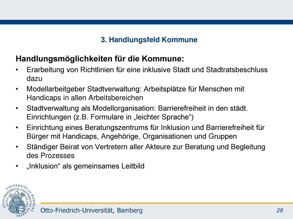3. Handlungsfeld Kommune