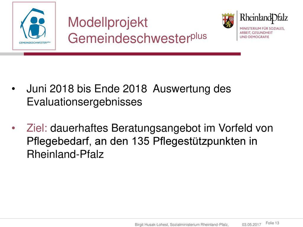 Gemeindeschwesterplus