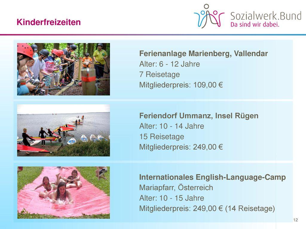 Kinderfreizeiten Ferienanlage Marienberg, Vallendar