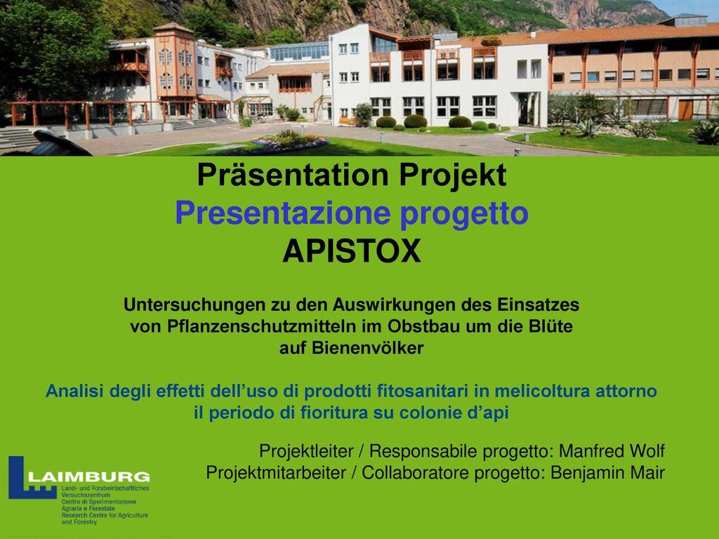 Präsentation Projekt Presentazione progetto