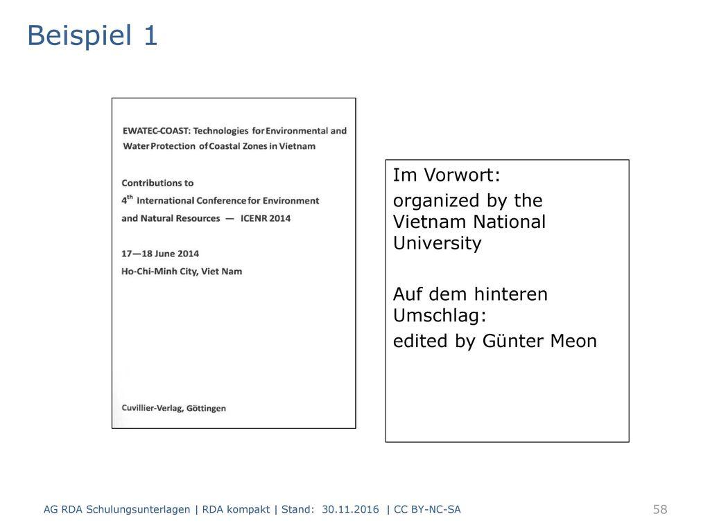 Beispiel 1 Titelblatt(scan) Im Vorwort: