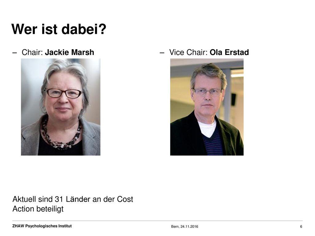 Wer ist dabei Chair: Jackie Marsh