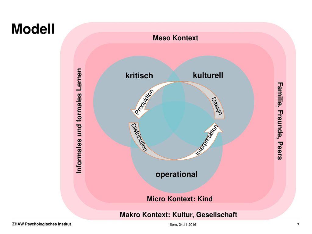 Modell kritisch kulturell operational Meso Kontext