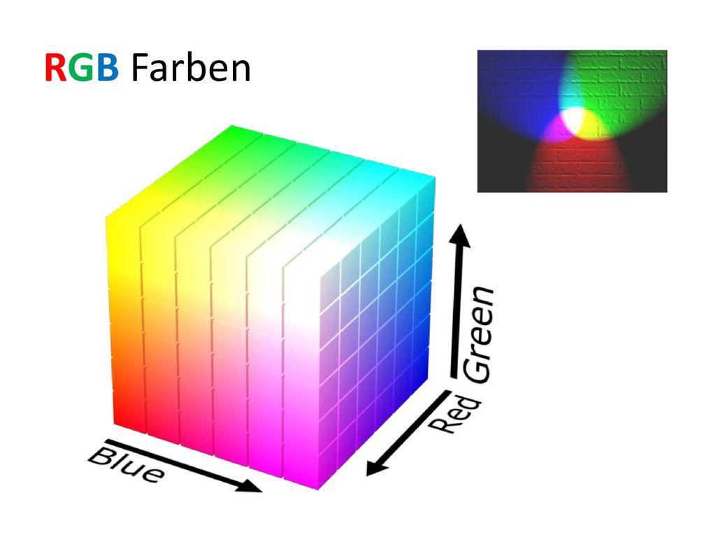 RGB Farben