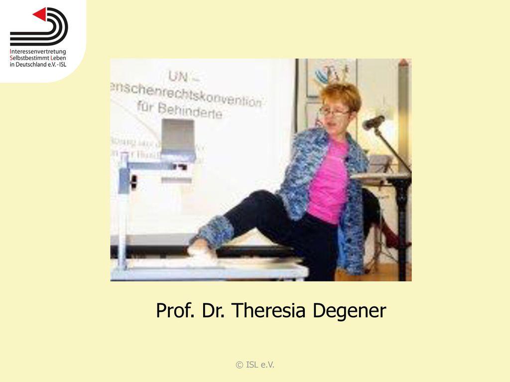 Prof. Dr. Theresia Degener