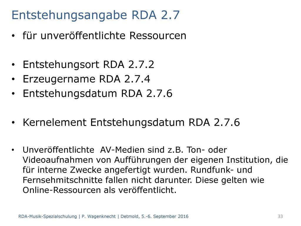 Herstellungsangabe RDA 2.10