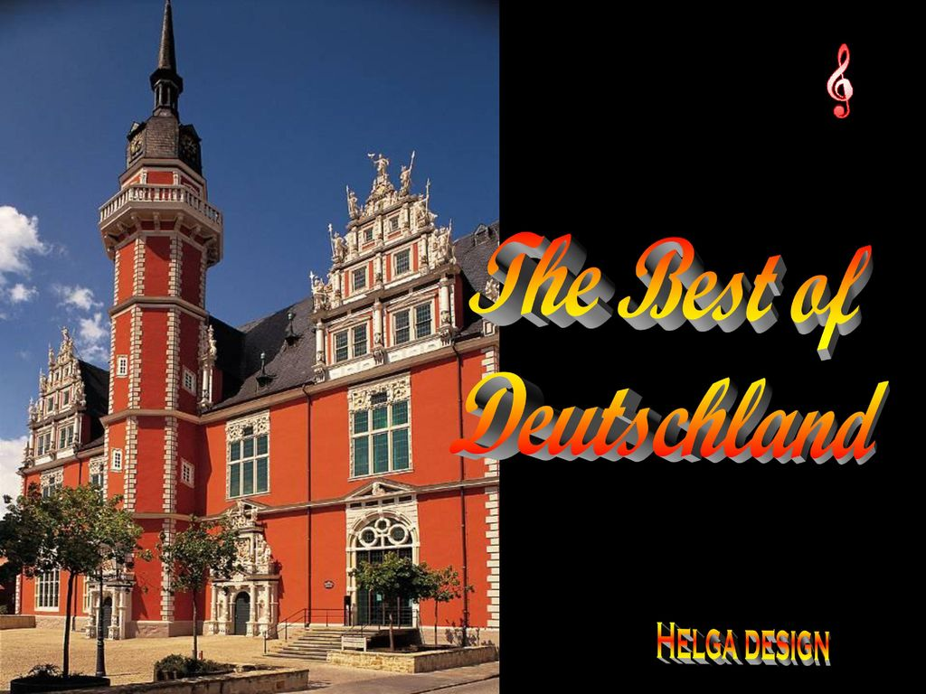 The Best of Deutschland Helga design