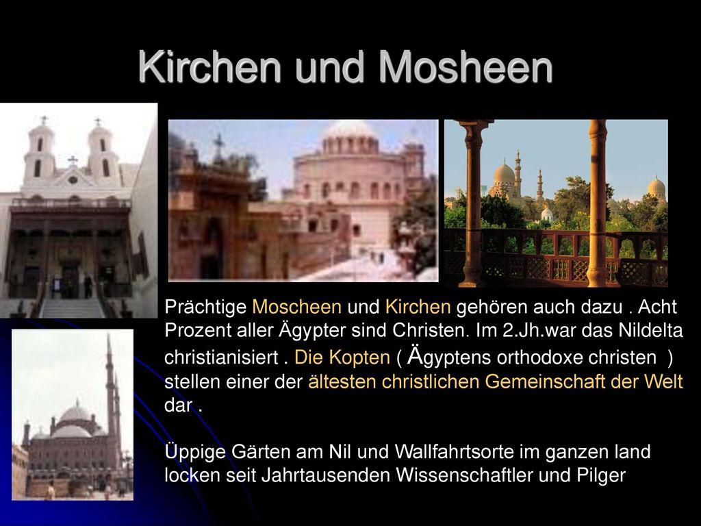 Kirchen und Mosheen
